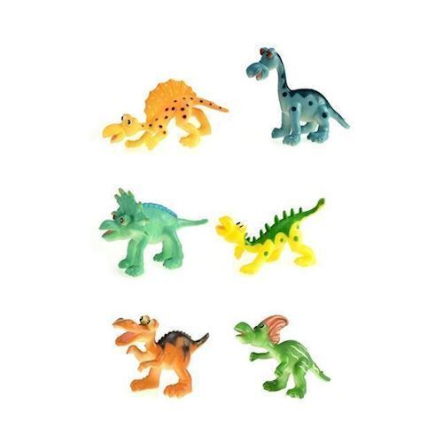 Image of Venlige dinosaur, 6 stk (8714627349054)