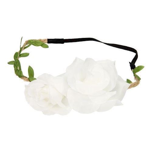 Image of   Hårbånd med blomst