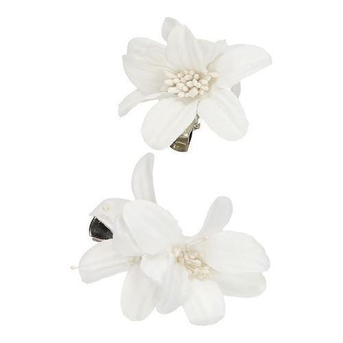 Image of   Hårclips blomster, 2 stk