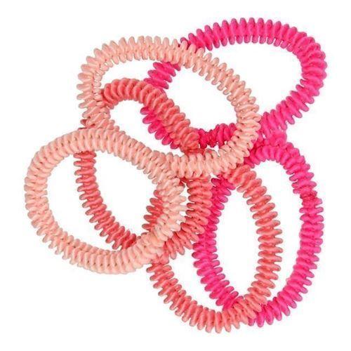Image of Hårelastikker Pink, 6 stk