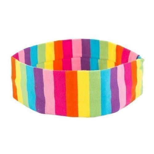 Image of   Hårbånd i regnbue farver