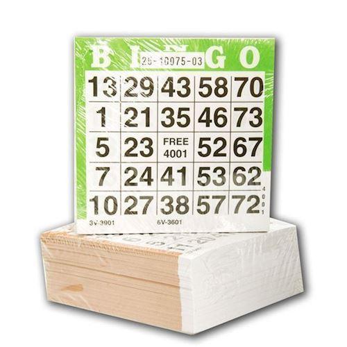 Image of Bingo kort 500 dele (8716096001914)