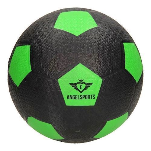 Image of   Gade fodbold, gummi grøn