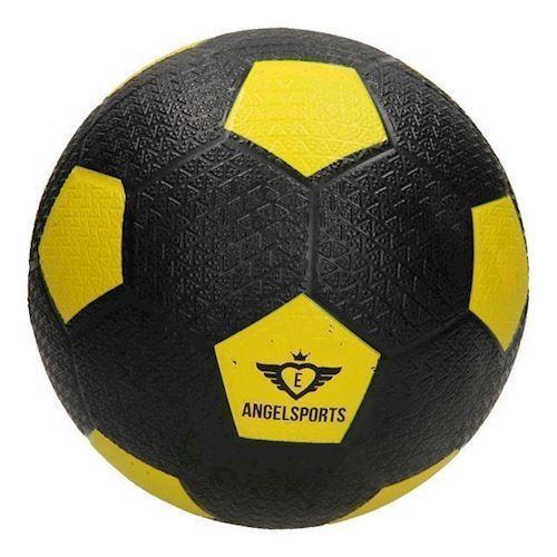 Image of   Gade fodbold, gummi gul
