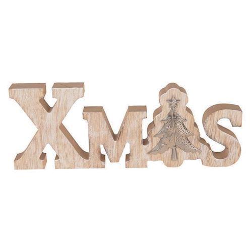 Image of Jule bogstaver i træ