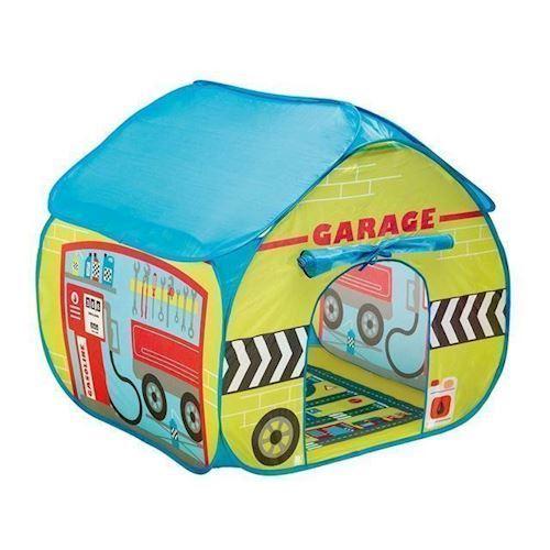 Image of Pop op legetelt, garage