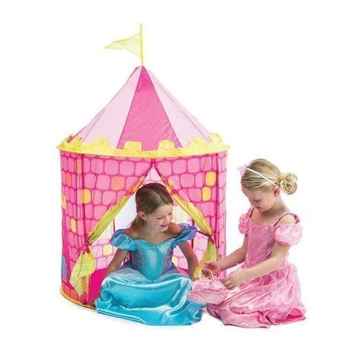 Image of Pop op legetelt, prinsesseslot