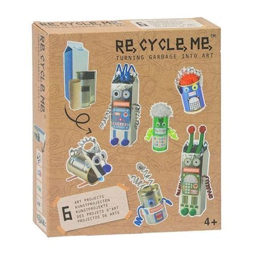 Image of   Re-Cycle-Me, robot verden