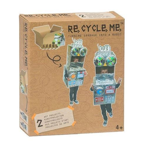 Image of   Re-Cycle-Me, lav selv robot