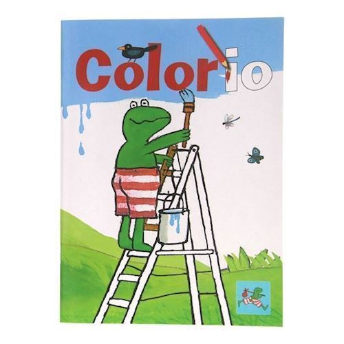 Image of   Frog Colorio, malebog med frø
