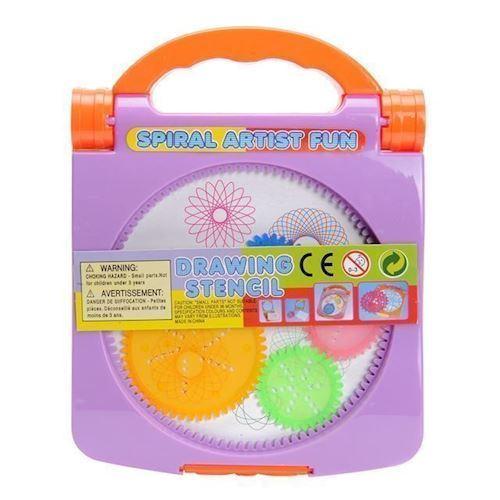 Image of Spiral kunst tegne kasse (8718012003361)
