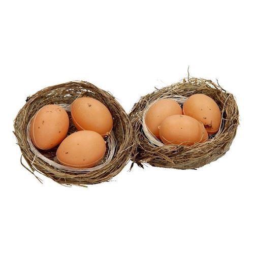 Image of Påskepynt, ægge redde, 2 stk (8718317588907)