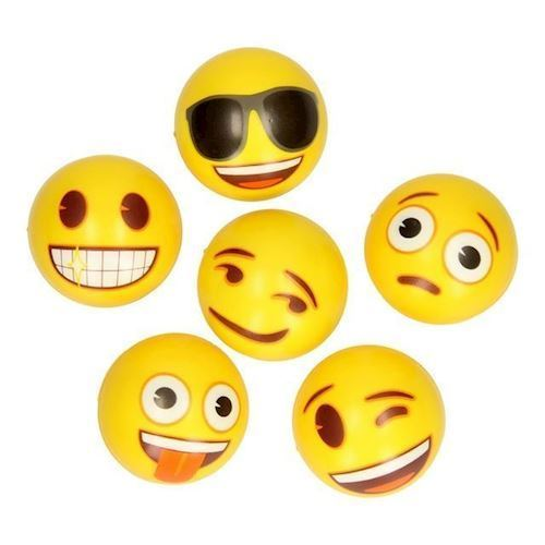 Image of Emoji Softball, 1 stk (8718657596327)