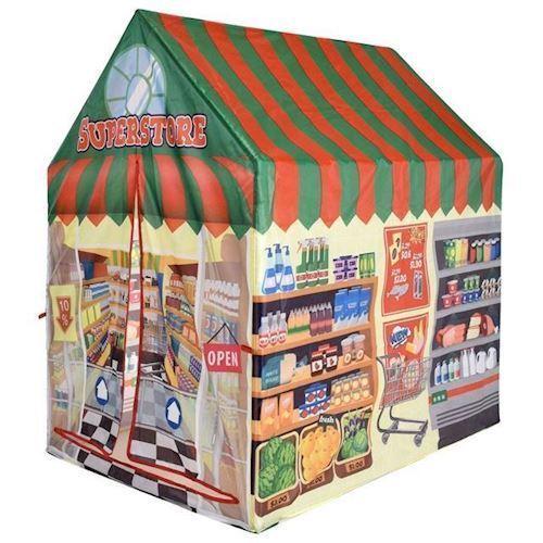 Image of Børne legetelt Supermarked (8719202400564)