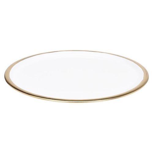 Image of   Bakke med guld, 42 cm