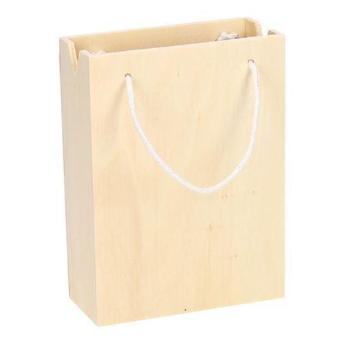 Image of   Dekorer din egen taske i træ, 16 cm