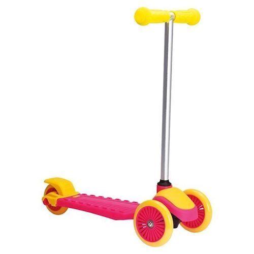 Trehjulet Cykel Lyserød/gul