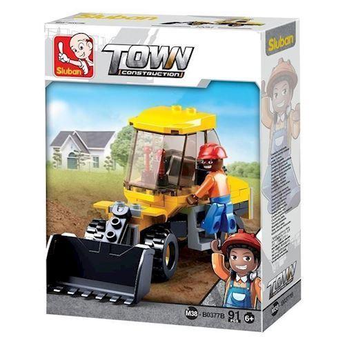 Image of Sluban Town, lille gravemaskine (8719558070138)