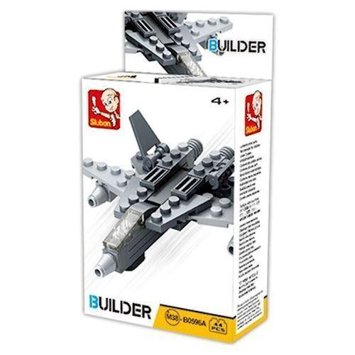 Image of Sluban Builder 4, militær fly (8719558070404)