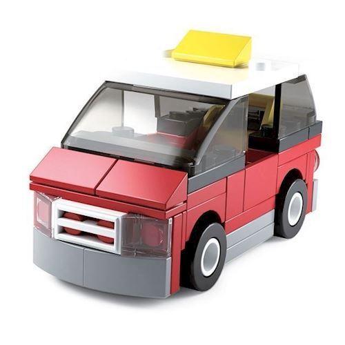 Image of Sluban Builder 4 - Taxi (8719558070503)