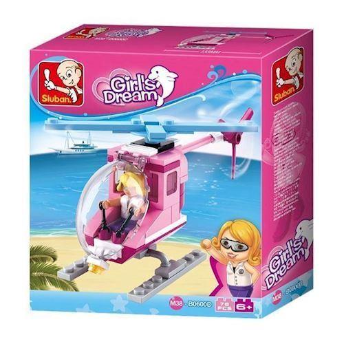 Image of Sluban Girls Dream Helikopter (8719558070558)