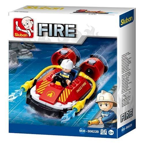Image of Sluban Fire Hovercraft (8719558070572)