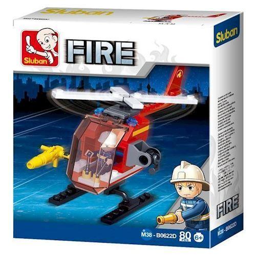 Image of Sluban Fire brandhelikopter (8719558070596)