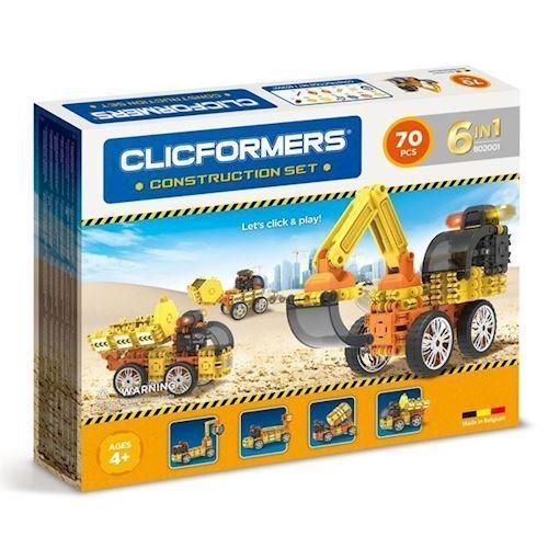 Image of Clicformers byggeri sæt 70 dele (8809465532864)