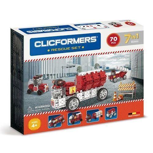 Image of Clicformers - Brandbiler, 70 dele (8809465532888)