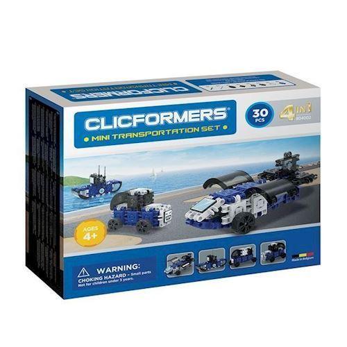 Image of Clicformers Mini Transport sæt -30 dele (8809465534165)