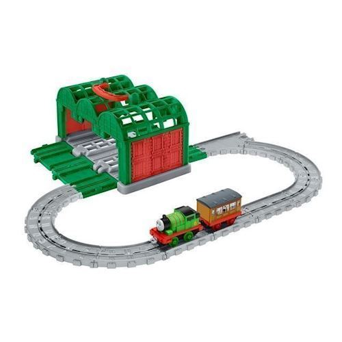 Image of Fisher Price Thomas Tog, Knapford Station (887961374193)