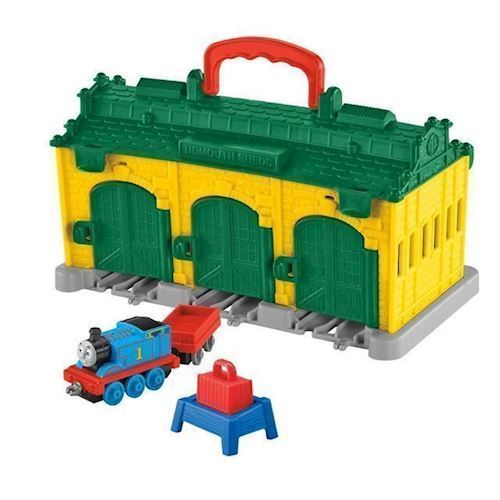 Image of Fisher Price Thomas Tog, bærbar tog station, Tidmouth (887961427882)