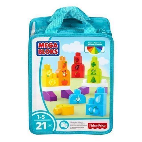 Image of Mega Bloks byg og lær, lær om farver (887961565263)