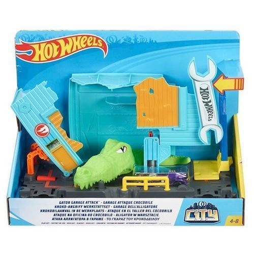 Image of   Hot Wheels City - Krokodille angreb