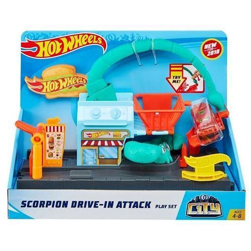 Image of   Hot Wheels City - Scorpion Drive-in Attack