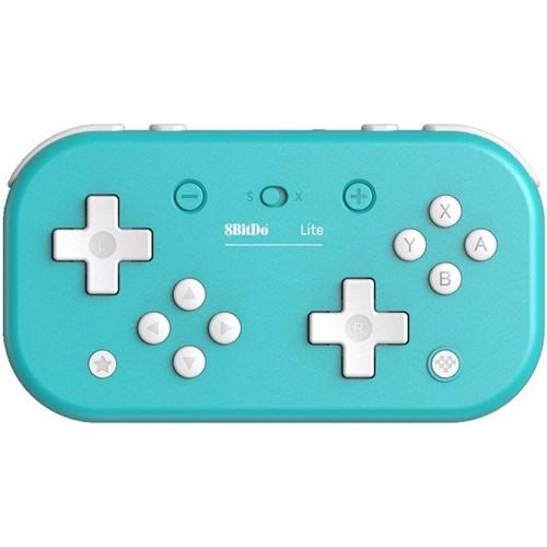Image of 8bitdo lite bt gamepad tyrkis, Nintendo Switch (6922621501091)
