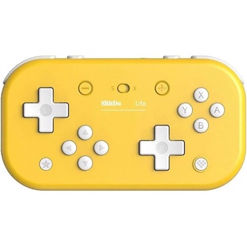Image of 8bitdo lite bt gamepad gul, Nintendo Switch (6922621501084)