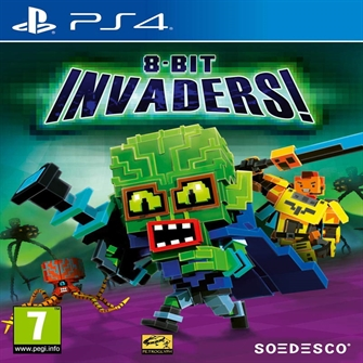 Image of 8-Bit Invaders, PS4 (8718591185366)