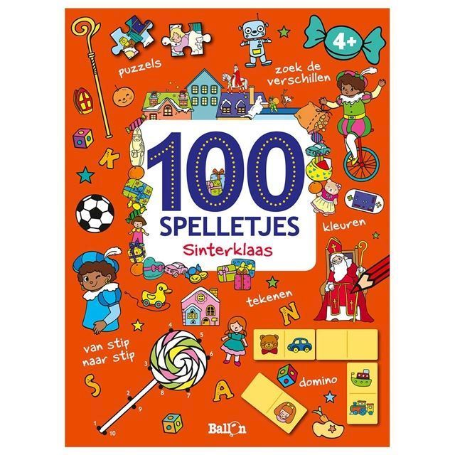 Image of 100 julespil (9789463078733)