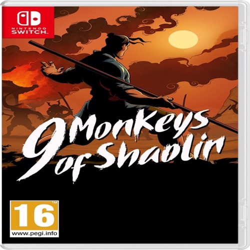 Image of 9 Monkeys of Shaolin -Nintendo Switch (4020628742751)