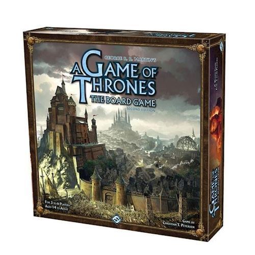 Image of   A Game Of Thrones Board Game 2nd Edition