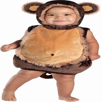Image of Abe Baby Udklædningstøj (6-24 måneder)(Str. 18-24M/24 MONTHS (18-24)) (883028401826)