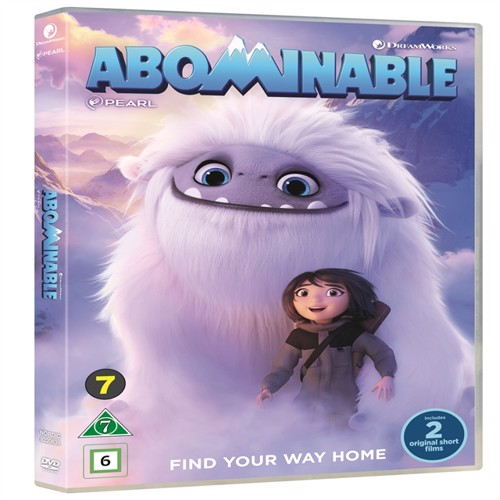 Image of Abominable - DVD (5053083206390)