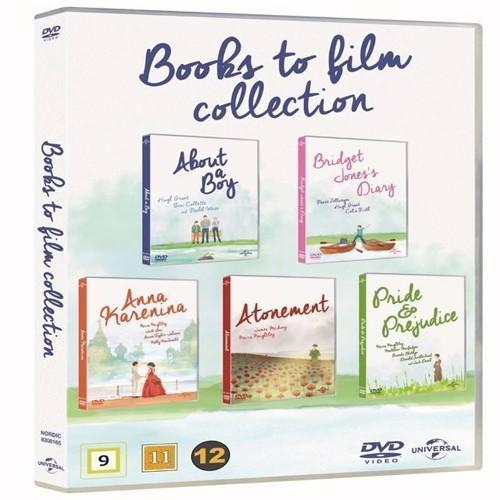 Image of About a boyBridget Jones DiaryAnna KareninaAtonementPride Prejudice Collection DVD (5053083081652)