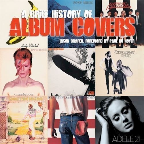 Image of   A Bried History Of Album Covers Updated Version Bog