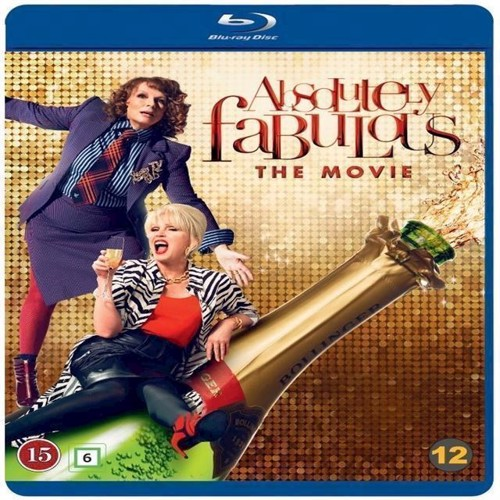Image of Absolutely Fabulous The Movie Blu-ray