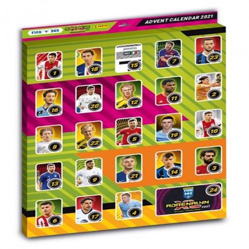 Adrenalyn - FIFA 365 2020/2021 - Julekalender med fodboldkort
