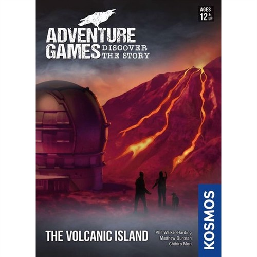 Image of Adventure Games: The Volcanic Island (English) (KOS1503) (0814743015036)