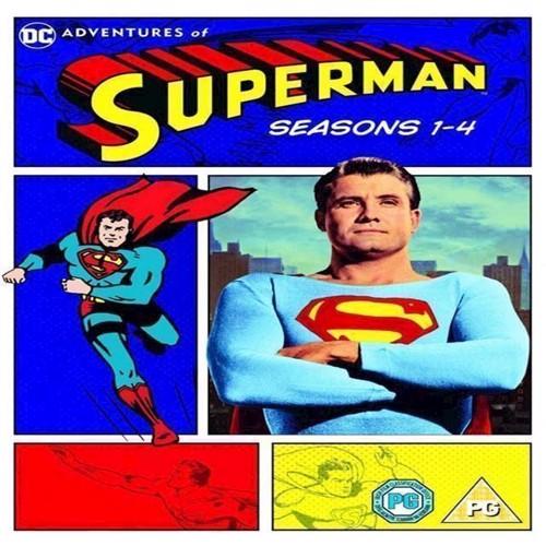 Image of Adventures of Superman Sæson 14 15disc DVD