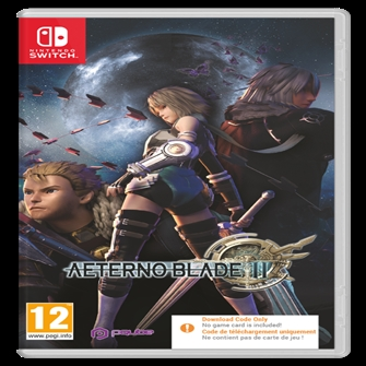 Image of Aeterno Blade II (Code in a Box) - Nintendo Switch (5060690792284)